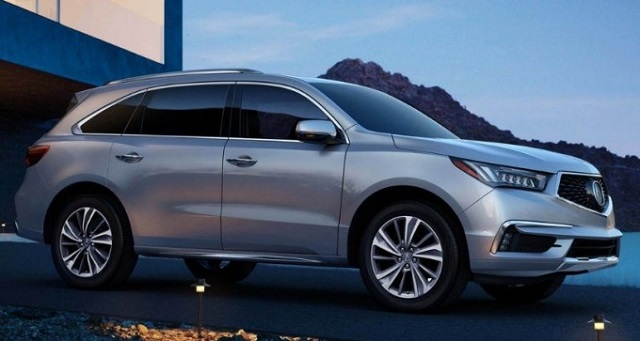 2020 Acura MDX side view