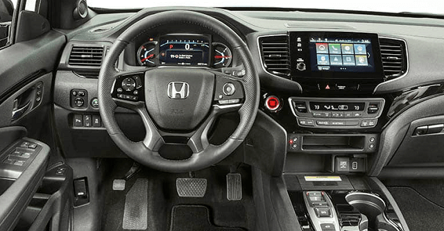 Honda Passport Interior
