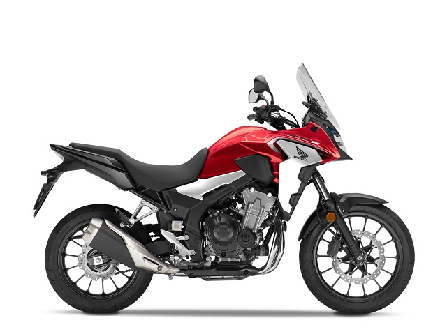 2020 Honda CB500X side view