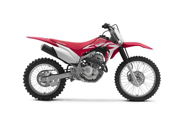 2020 Honda CRF250F side