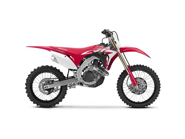 2020 Honda CRF450R side