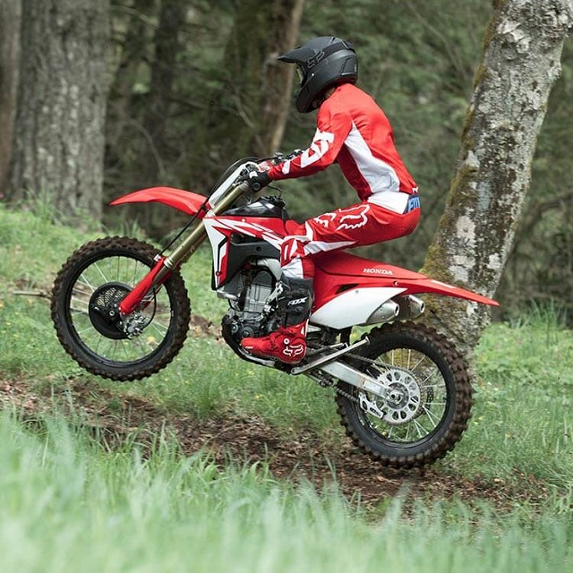 2020 Honda CRF450RX side