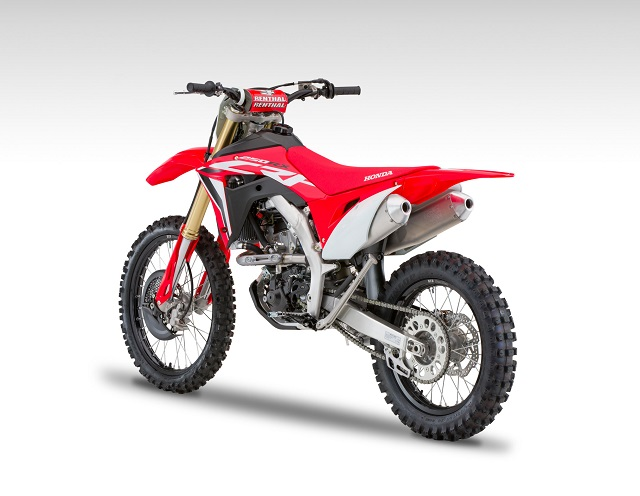 2020 Honda CRF250RX rear