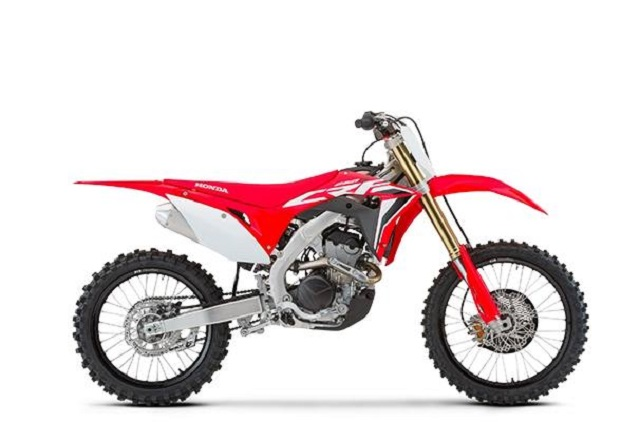 2020 Honda CRF250R side
