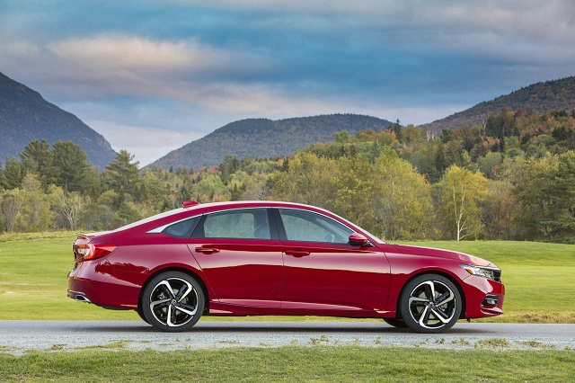 2021 Honda Accord side view