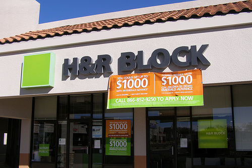 H&R Block Tax Filing