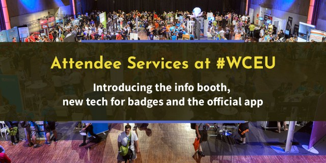 New at #WCEU: Attendee Services – WordCamp Europe 2018