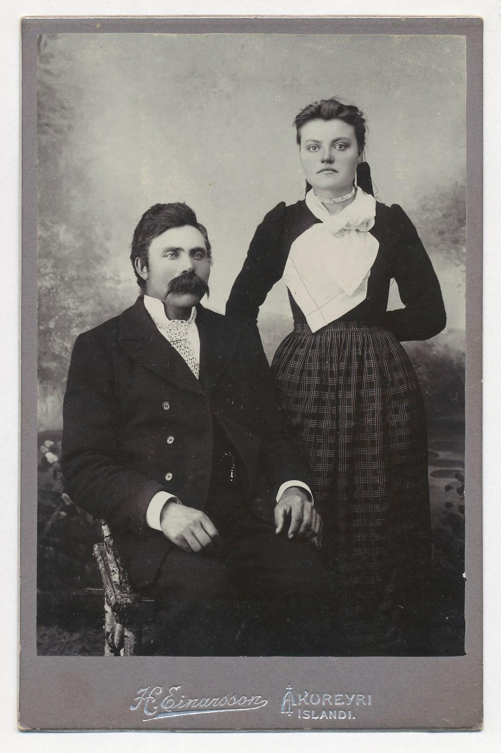 Ólafur Pálsson og Guðrún Ólafsdóttir.