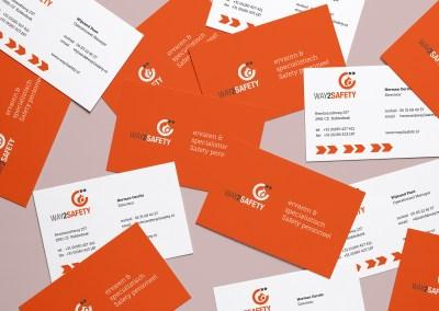 Way2Safety zakenkaartjes