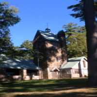 A one-week stay at the Isola Bella Camp house in Salisbury, Connecticut, donated by the American School for the Deaf