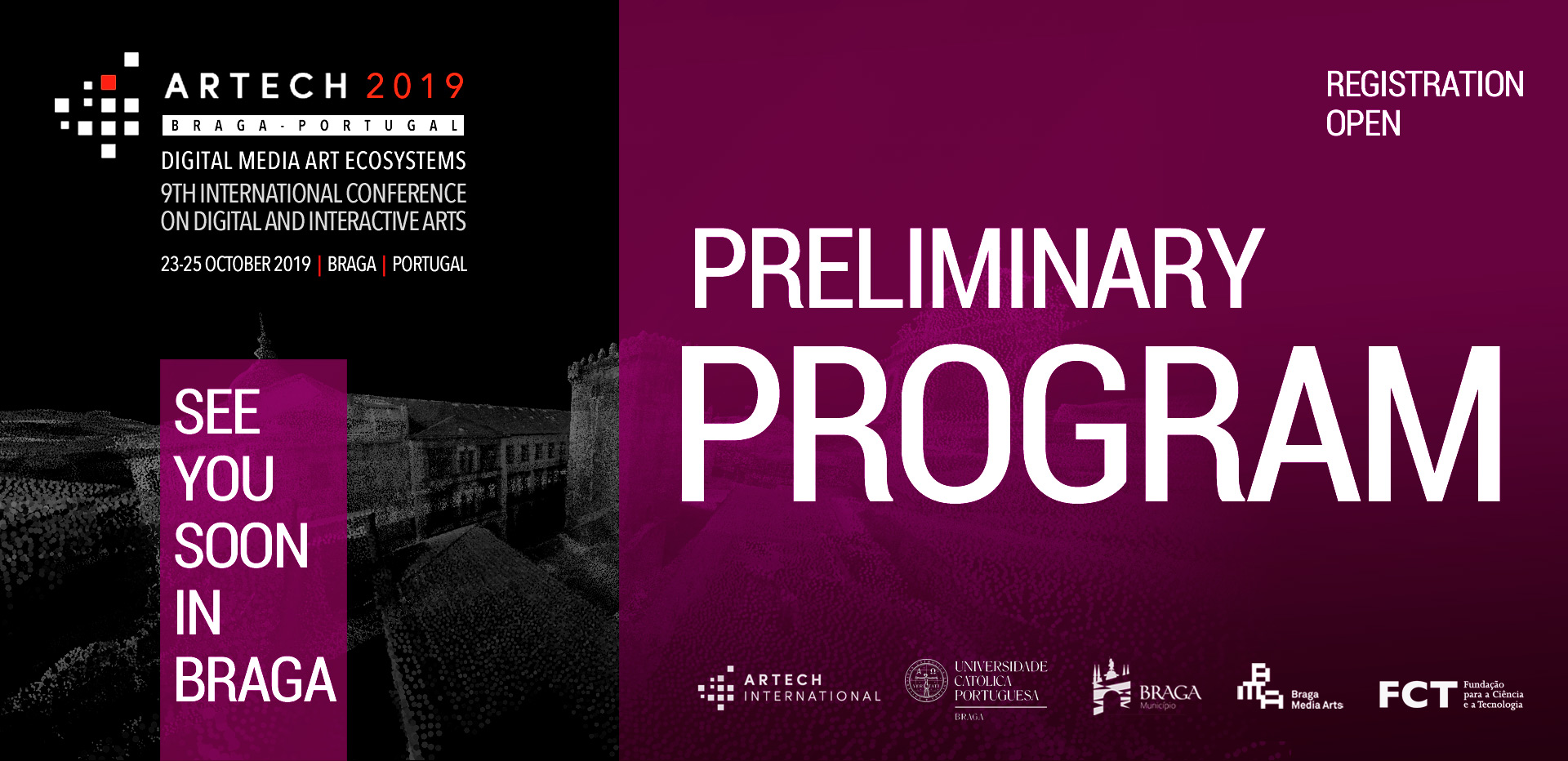 Artech 2019 Preliminary Program