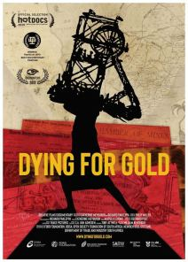 Dying for Gold - Poster