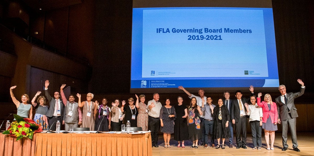 IFLA Governing Board 2019-2021