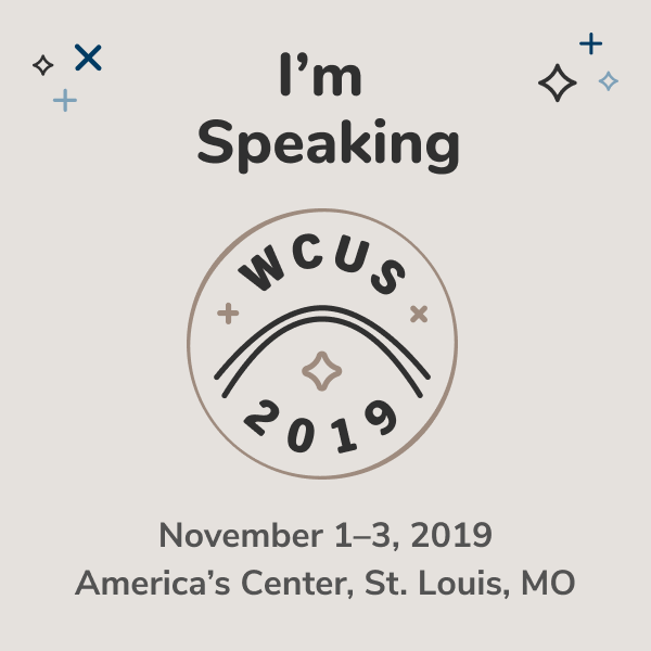 I'm speaking at WordCamp US 2019!