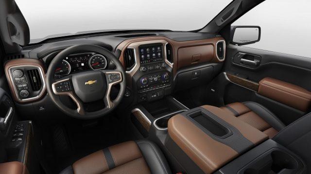 2018 Chevrolet Silverado High Country interior