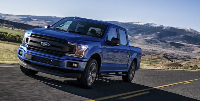 2018 Ford F-150 Lightning side