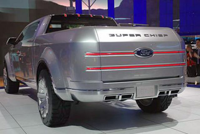 2018 Ford Super Chief rear