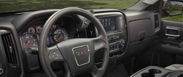 2018 GMC Sierra Elevation interior