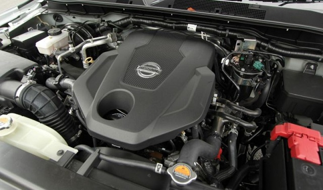 2018 Nissan Navara engine