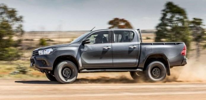 2018 Toyota Hilux Facelift, Revo, USA