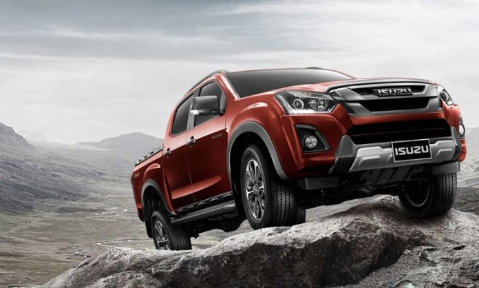 2019 Isuzu D-Max come without bigger changes