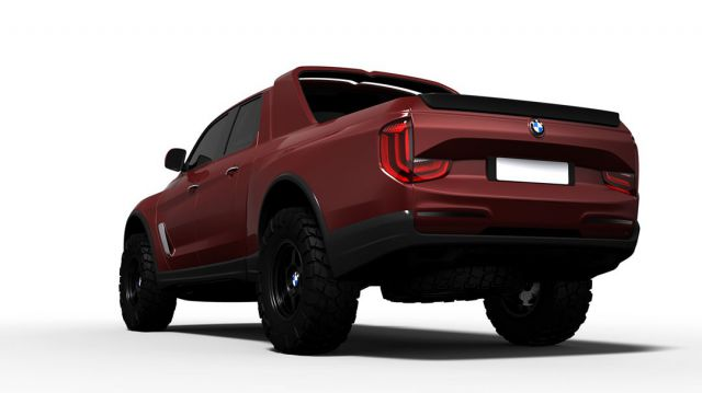 BMW pickup truck rear