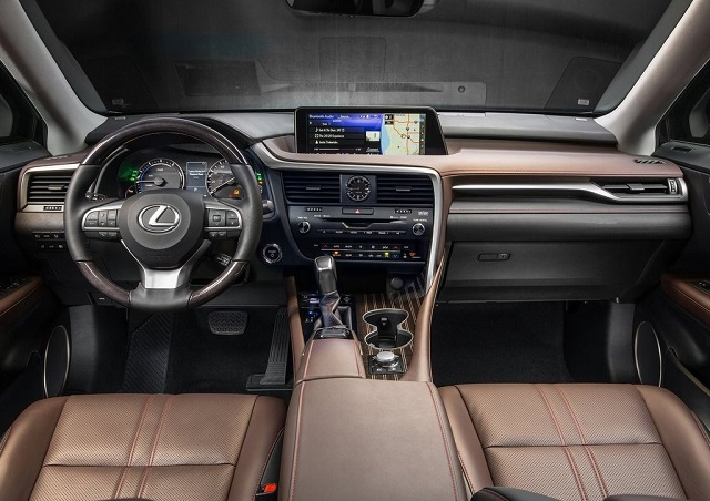 Lexus Pickup Concept interior