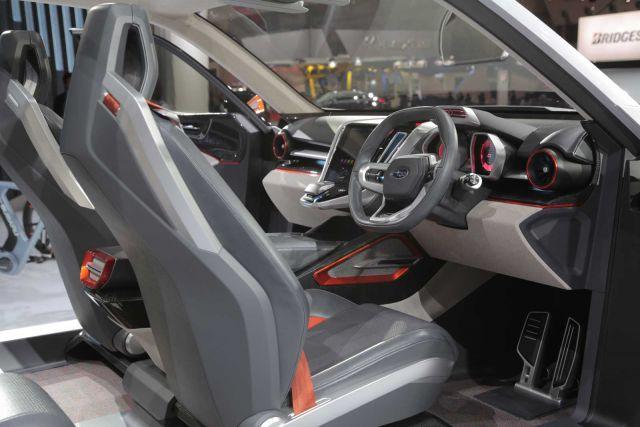 Subaru Pickup Truck interior