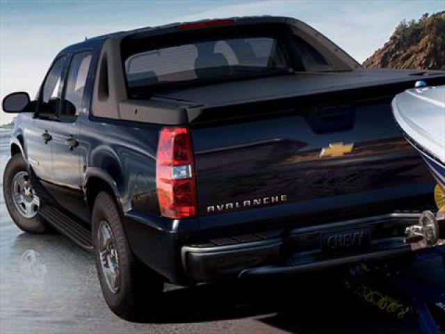 2019 Chevrolet Avalanche rear