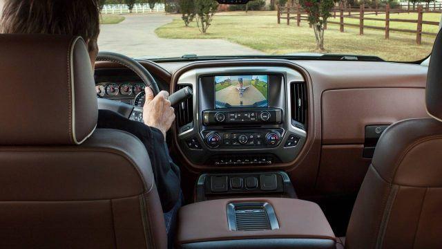 2019 Chevrolet Silverado 1500 interior view