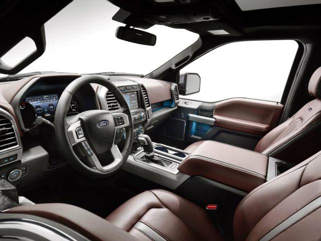 2019 Ford F-150 Diesel interior