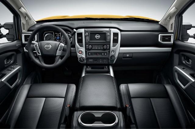 2019 Nissan Frontier Diesel interior
