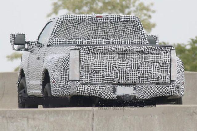2019 Ford Super Duty rear