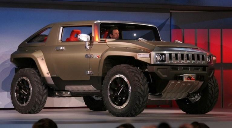 Hummer HX Concept Price, Interior, Release
