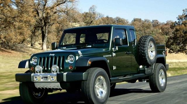 jeep gladiator pickup truck concept