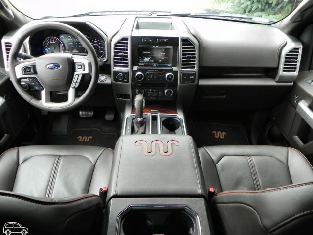 2019 Ford F-150 King Ranch interior