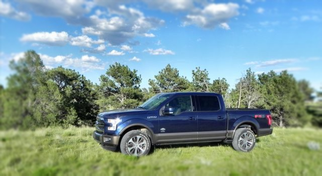 2019 Ford F-150 King Ranch side