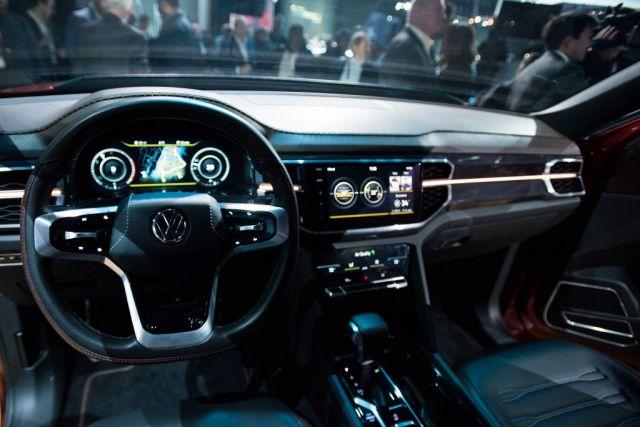 Volkswagen Atlas Tanoak interior