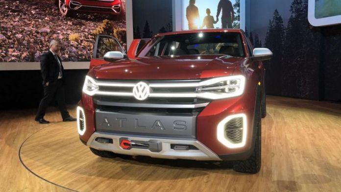 Volkswagen Atlas Tanoak First Look