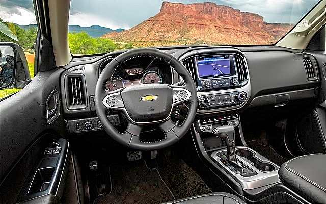2019 Chevy Colorado Diesel Interior