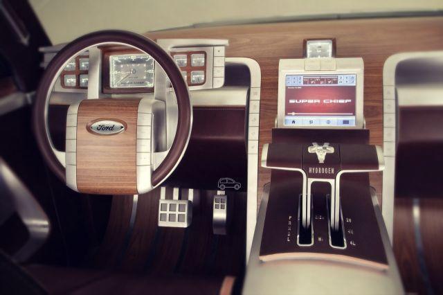 2019 Ford Super Chief interior
