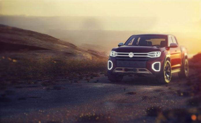 2019 Volkswagen Atlas Tanoak design is similar to the Atlas Cross Sport SUV