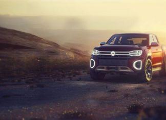 2019 Volkswagen Atlas Tanoak front