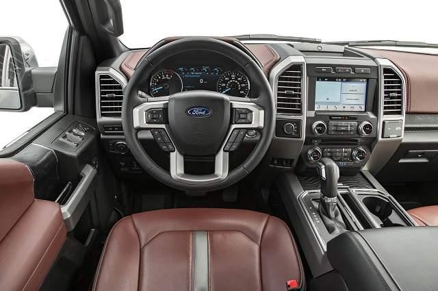 2019 ford f-150 lightning interior