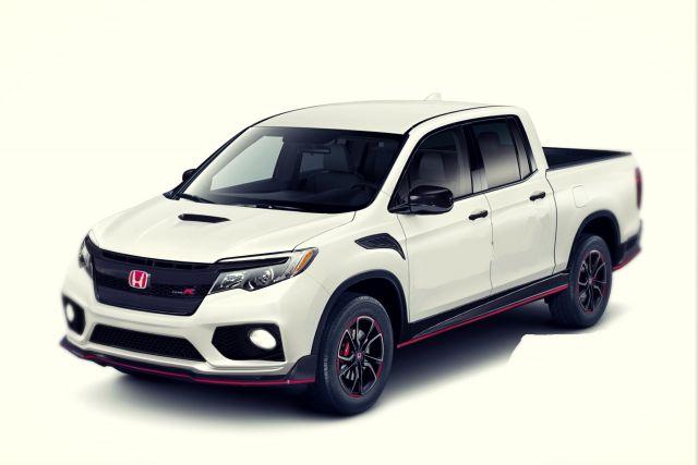 2020 Honda Ridgeline Type R