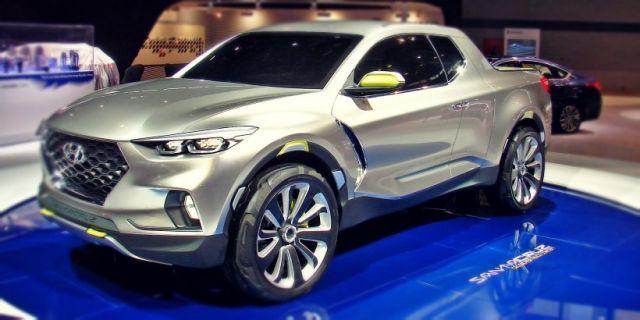 2020 Hyundai Santa Cruz front