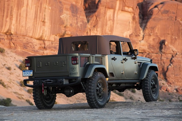 2020 Jeep Scrambler rear view