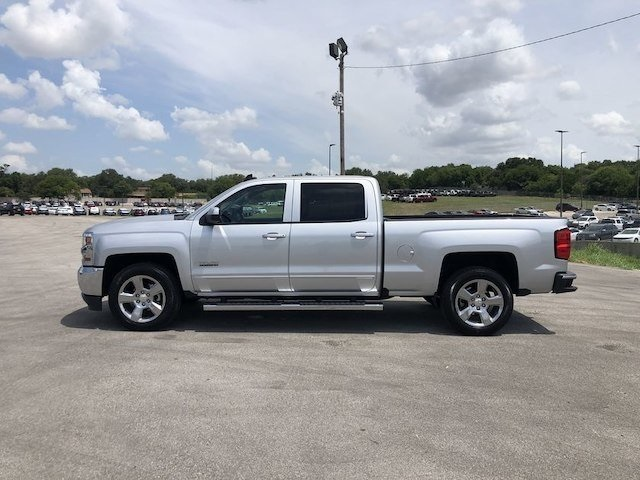 2018 Chevrolet Silverado LT Texas Edition side view