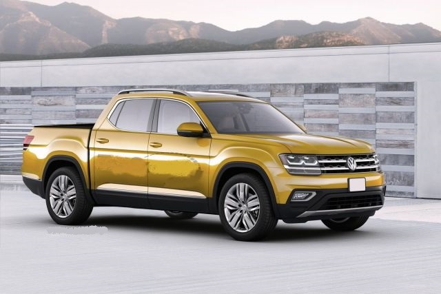 2019 Volkswagen Atlas front view