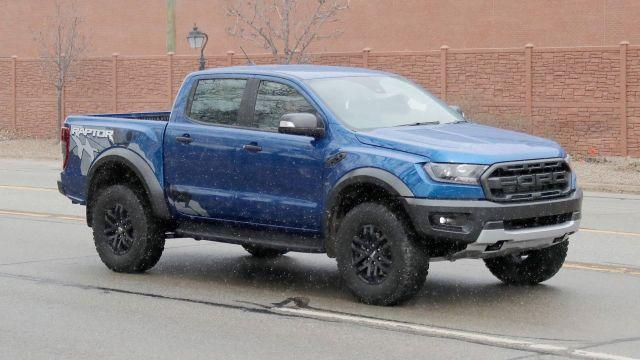 2020 Ford Raptor Hybrid side